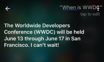 The iOS 10 Apple Event Will Take Place June 13, Says Siri