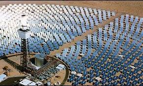 Shocker: World's Largest Solar Plant to Use Solar Panels