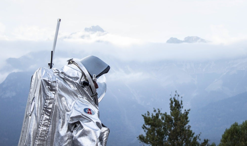 Big Pic: Testing Spacesuits For Mars