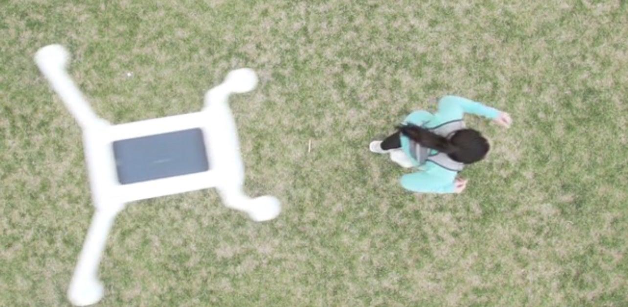 Kickstart A Drone Exoskeleton For Your Phone