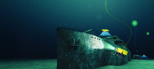 How Robot Submarines Are Imaging The Titanic in 3-D