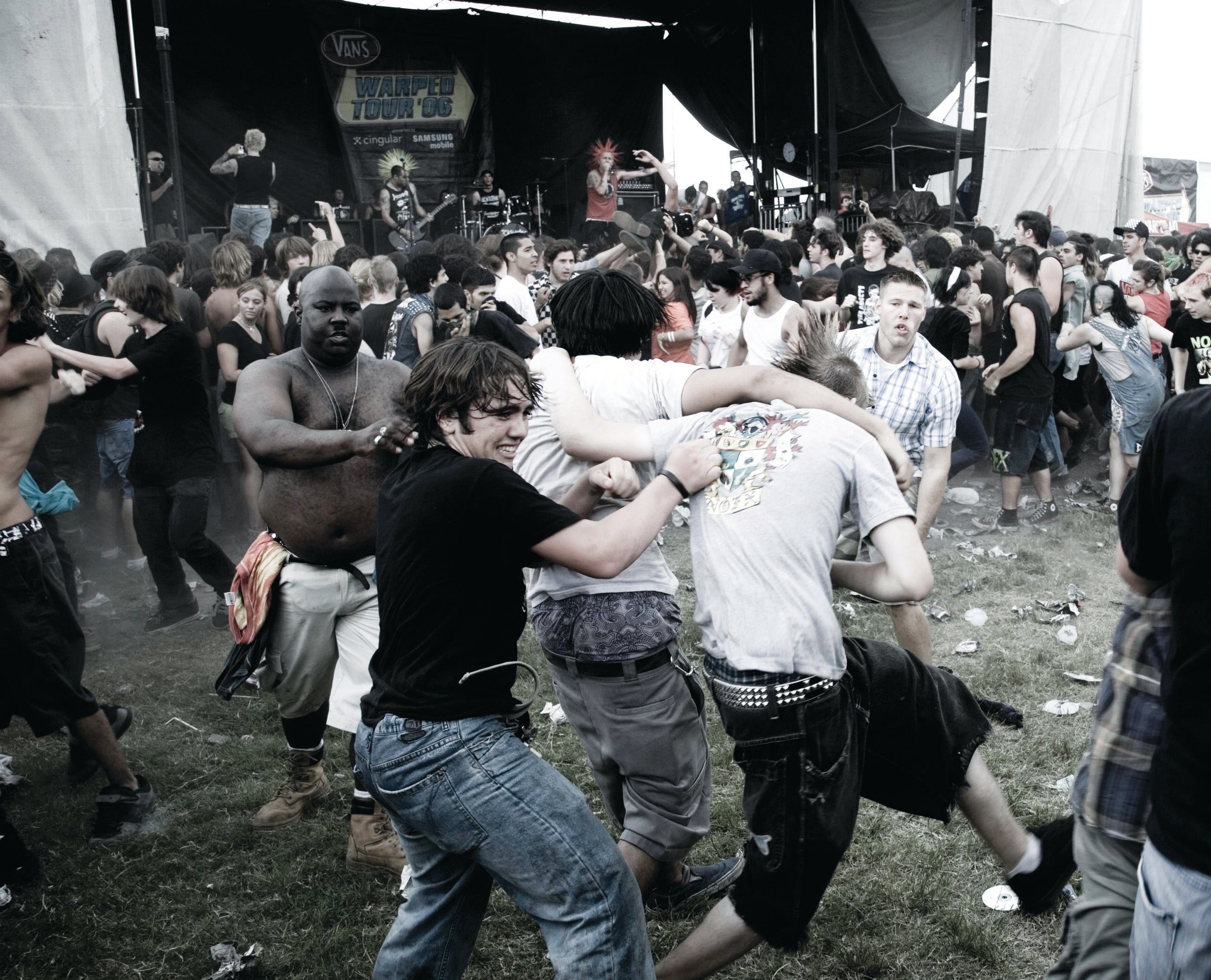 How To Survive A Mosh Pit