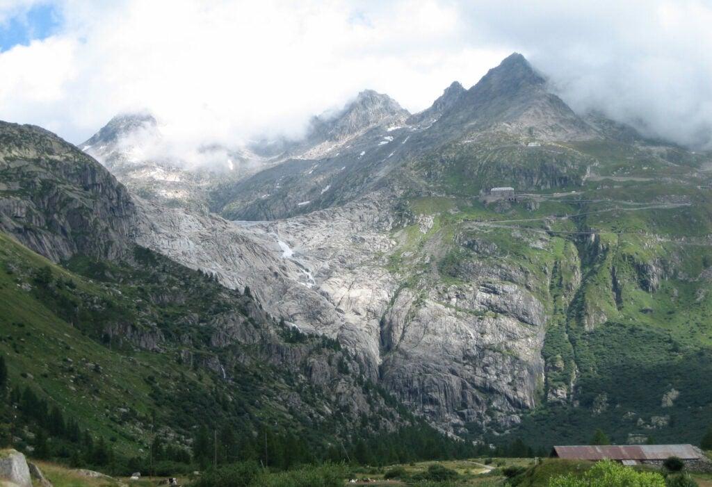The Rhône Glacier in 2008