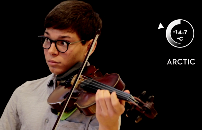 Listen To A String Quartet Perform 133 Years Of Climate Change