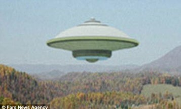 Iran Announces Launch Of Its Unmanned Flying Saucer