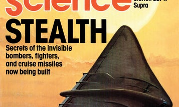 From The Archives: Stealth Flight Comes Into View