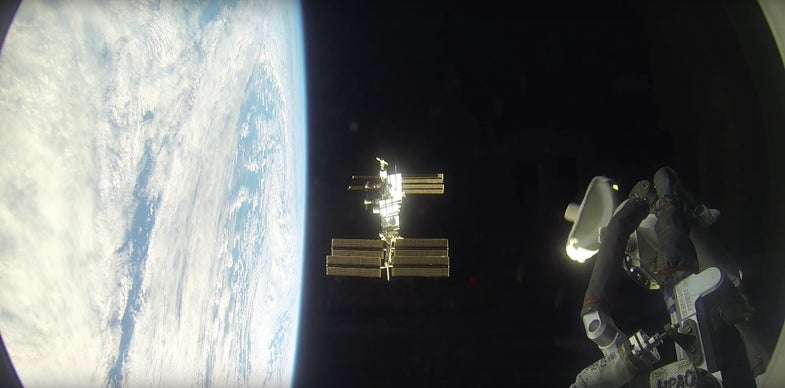 This Slow Space Station Docking Video Is Oddly Mesmerizing