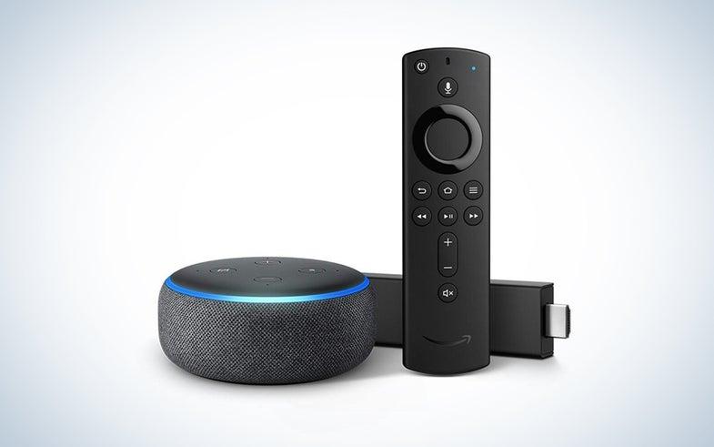 Amazon Echo Dot and Fire TV bundle