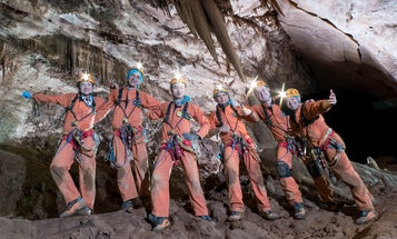 Why NASA Astronauts Just Spent A Week Living In A Cave