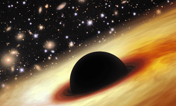 Found: Early Black Hole 12 Billion Times More Massive Than Our Sun