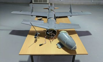 Report: Iran built a guided missile in a drone's body for rebels in Yemen