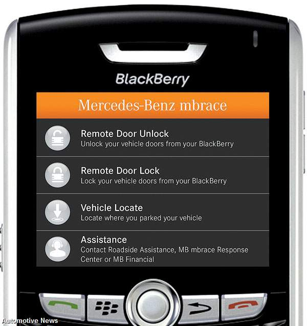 Mercedes-Benz Launches New Apps-Based Telematics Service