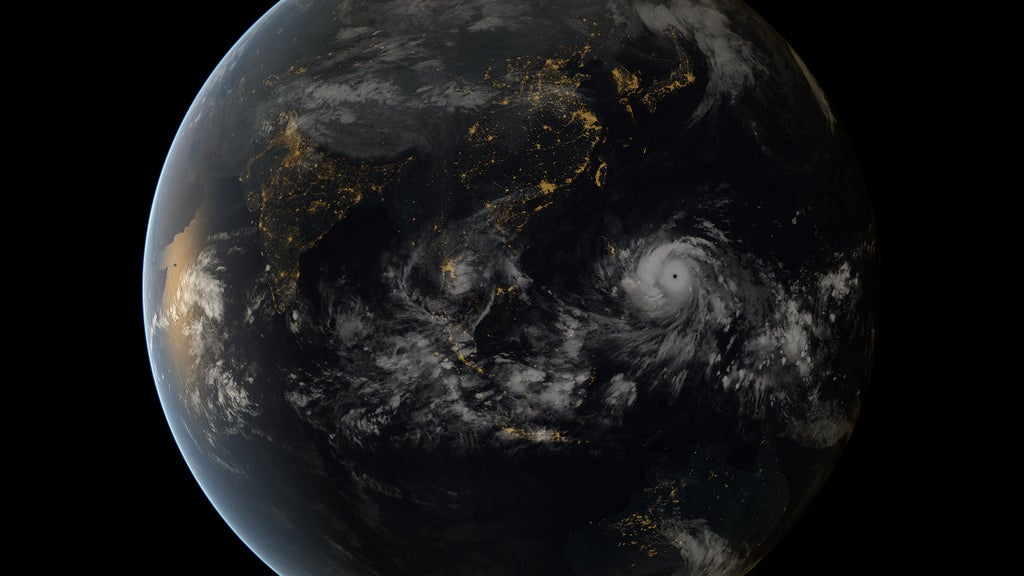 Big Pic: Super Typhoon Haiyan, As Seen From Space