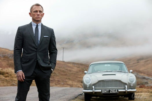 How James Bond's Aston Martin Survived A Huge Explosion In 'Skyfall'