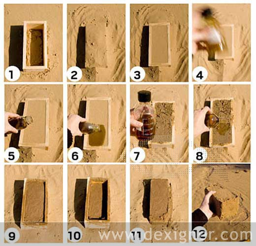 Bio-Manufactured Bricks Are Made at Room Temperature From Bacteria, Sand and Urine