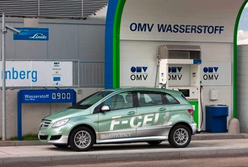 Mercedes to Launch Hydrogen Fuel-Cell Car Into Production by 2010