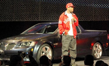 GM Ropes in 50 Cent for its Odd Unveiling