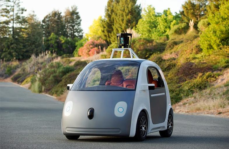 Prototype Google Self-Driving Car