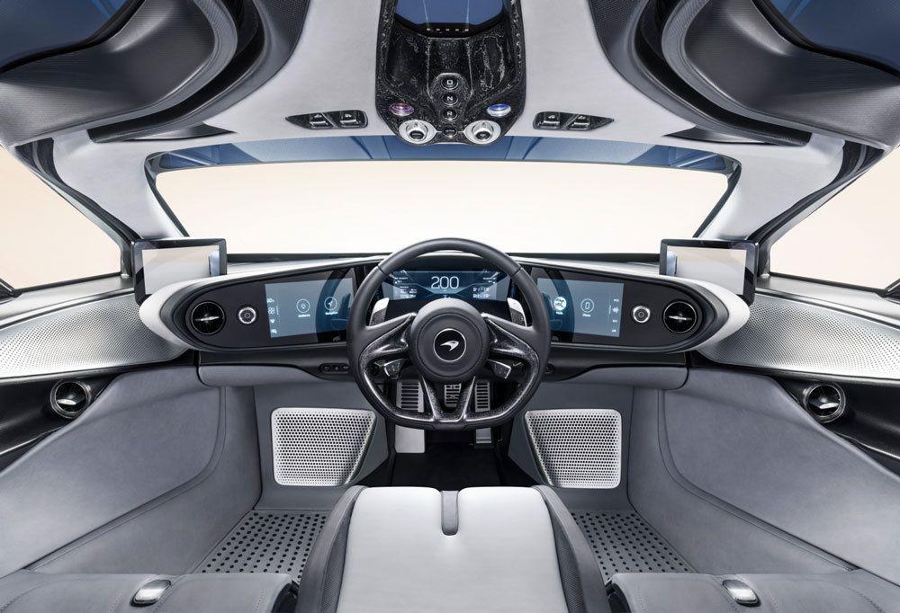 McLaren Cockpit