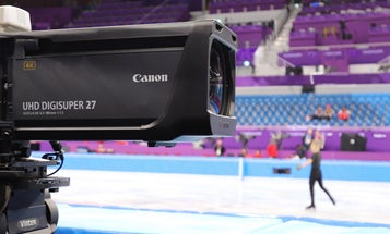 Broadcast camera lenses at the Olympics can cost as much as a Lamborghini