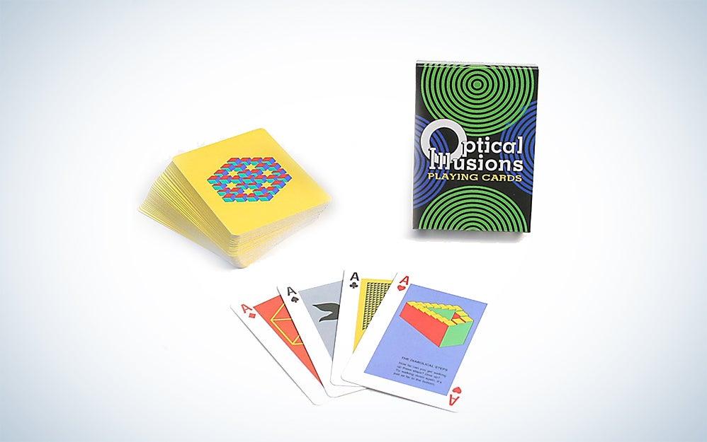 Optical Illusions Card Game