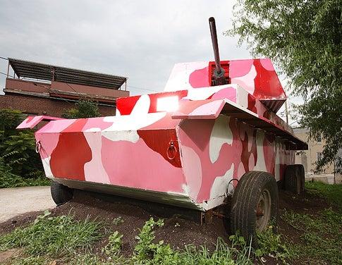 Pedal-Powered Panzer