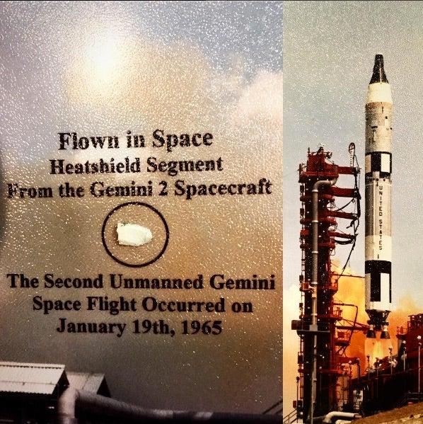 Gemini 2 heat shield segment