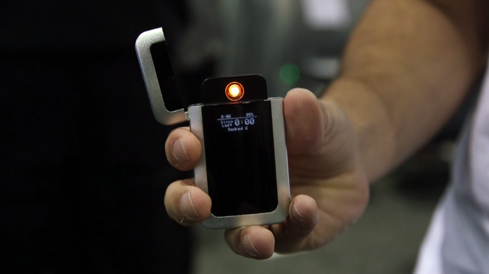 CES 2015: Can A Bluetooth-Connected Lighter Help You Quit Smoking?  [Video]