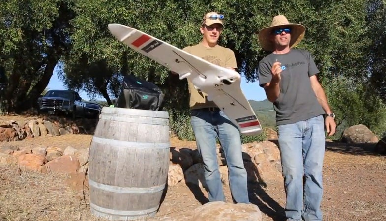 Drones Are Helping Make Delicious Wine