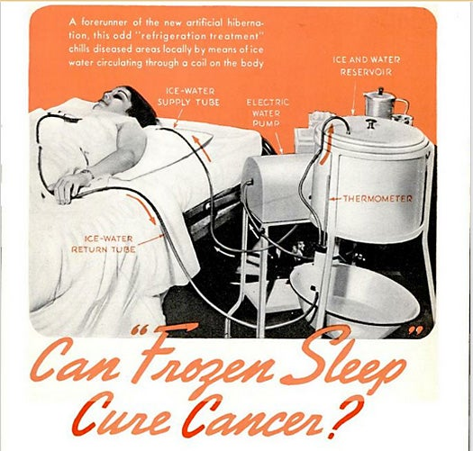 The Dubious Assertion of Freezing People to Cure Their Cancer, September 1939