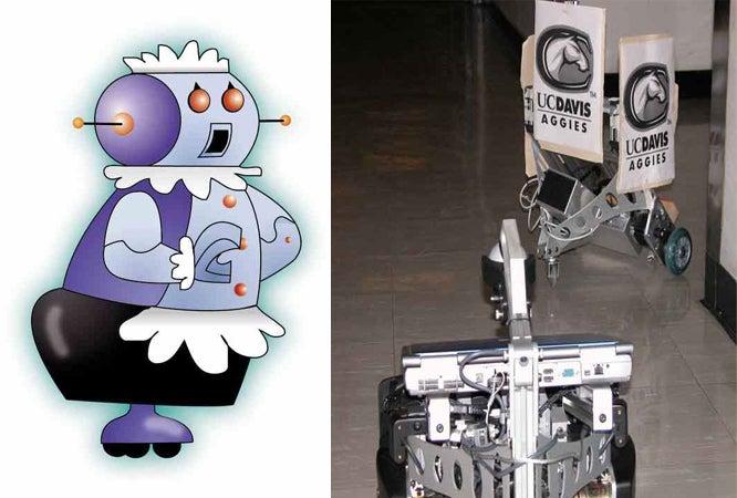 Follow That Robot!