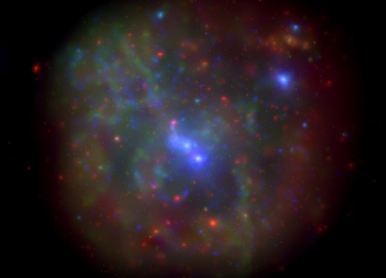 Mystery Gas Cloud On Course To Enter Supermassive Black Hole At Milky Way's Heart