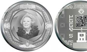 World's First Coins With QR Codes Will Start Circulating in the Netherlands Next Week