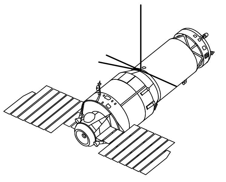 Soviet Space Station Fired A Gun In Orbit