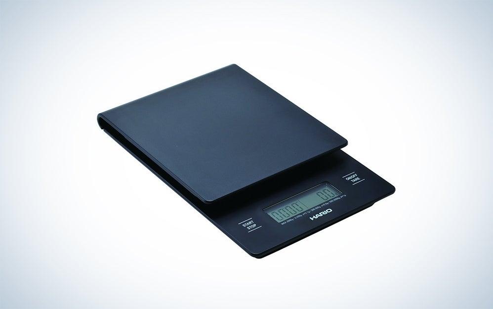 Hario timer and precision scale