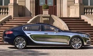 Bugatti's 4-Door, Ultra-Luxe Galibier Concept Trumps Veyron in Sheer Ostentation, If That's Possible