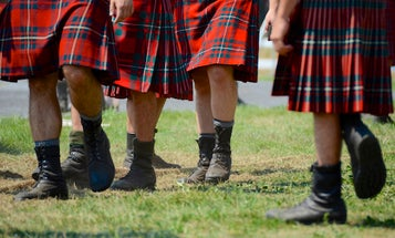Wearing A Kilt Could Make Your Sperm Stronger
