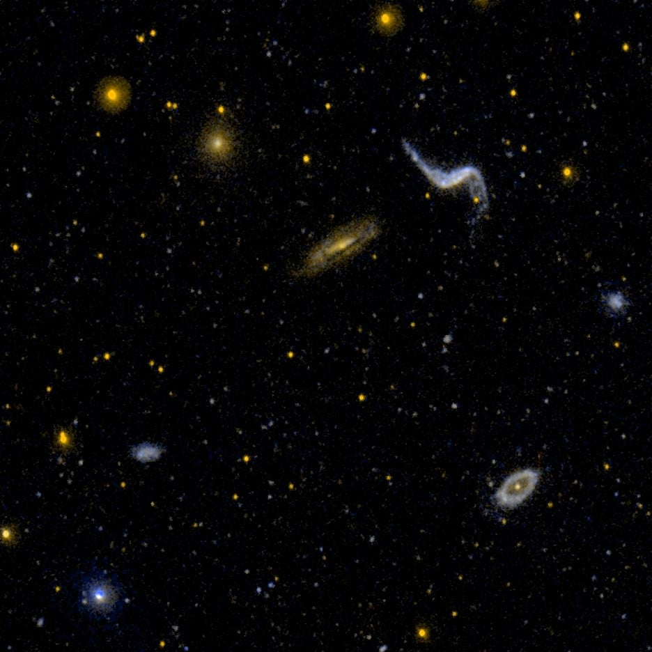 New Study Finds Vast Galactic Network, No Sign of Dark Matter