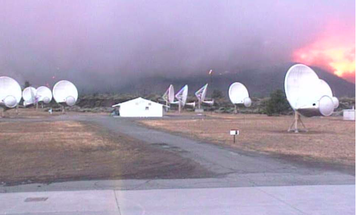 Wildfires In Northern California Threaten The Search For Alien Life
