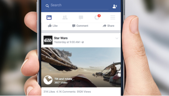 Facebook Is Bringing 360-Degree Videos To Your News Feed