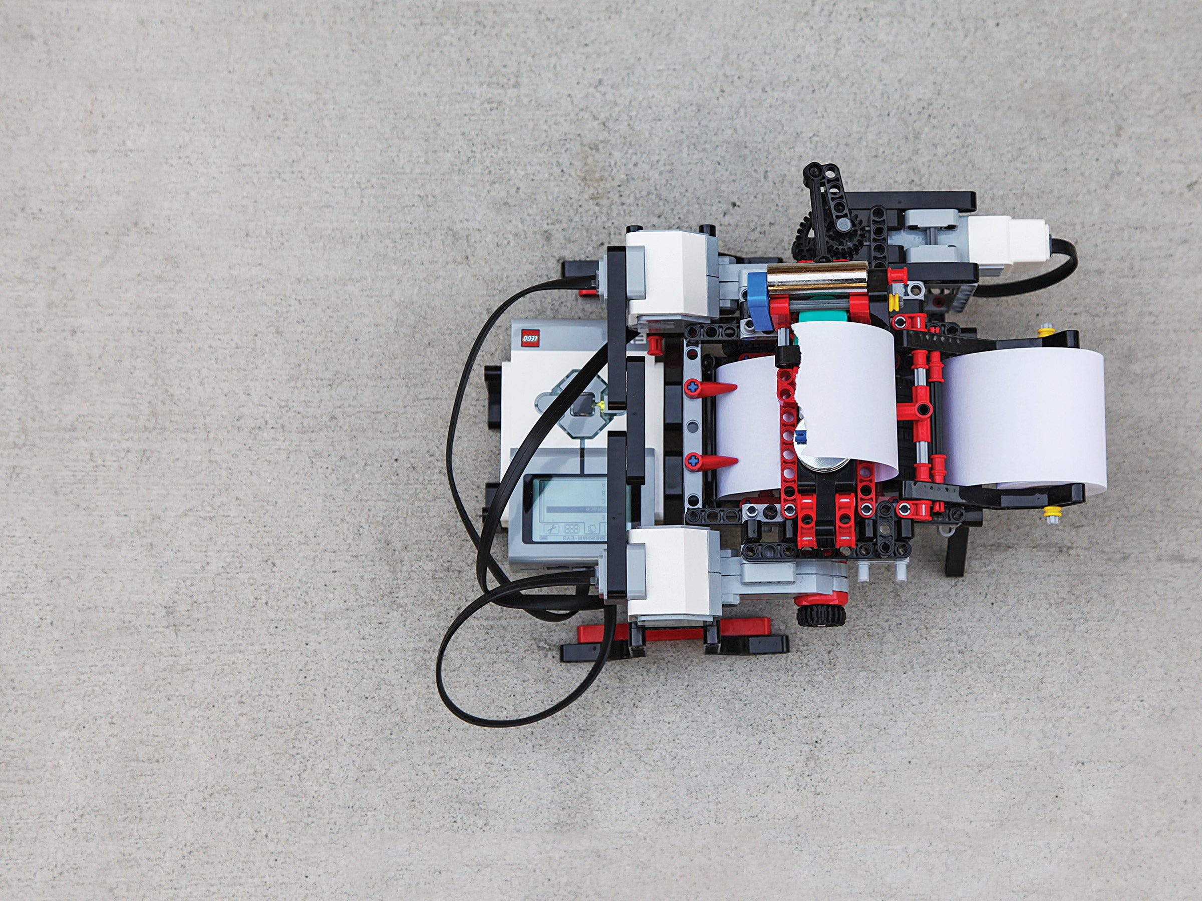 A Braille Printer Born From LEGO