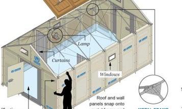 A $1,000 Ikea House For Refugees