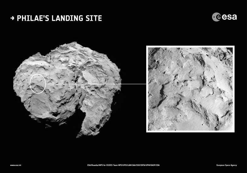 Rubber Ducky Comet Site Needs A Catchy Name