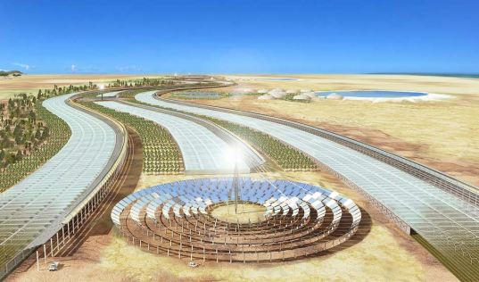 Solar Collectors Covering 0.3 Percent of the Sahara Could Power All of Europe