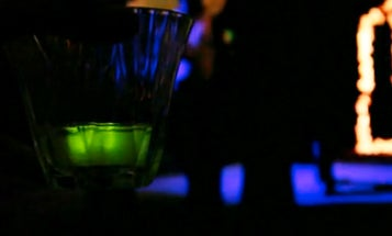 Glowing Ice Cubes Warn You When You Drink Too Much