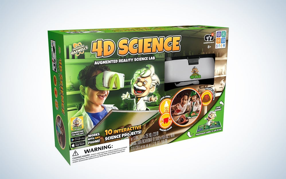 Spicebox 4D Science Augmented Reality Kit
