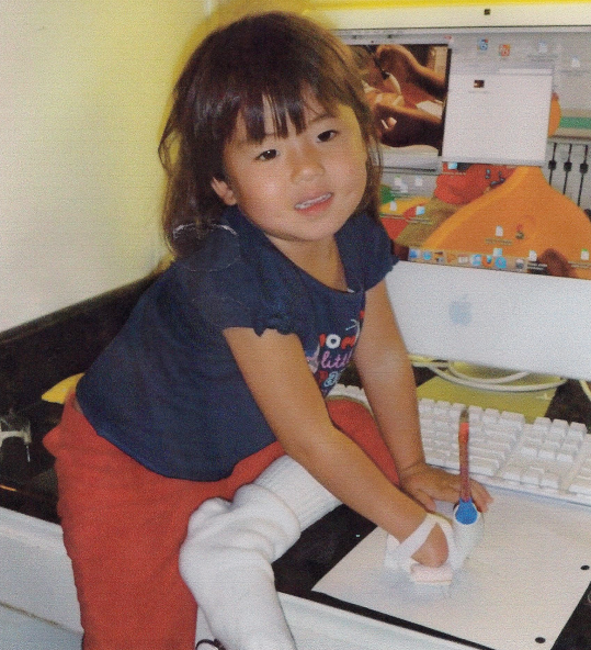 Girl Scout Team Patents Prosthetic Hand Device, Helping a Toddler Write For the First Time