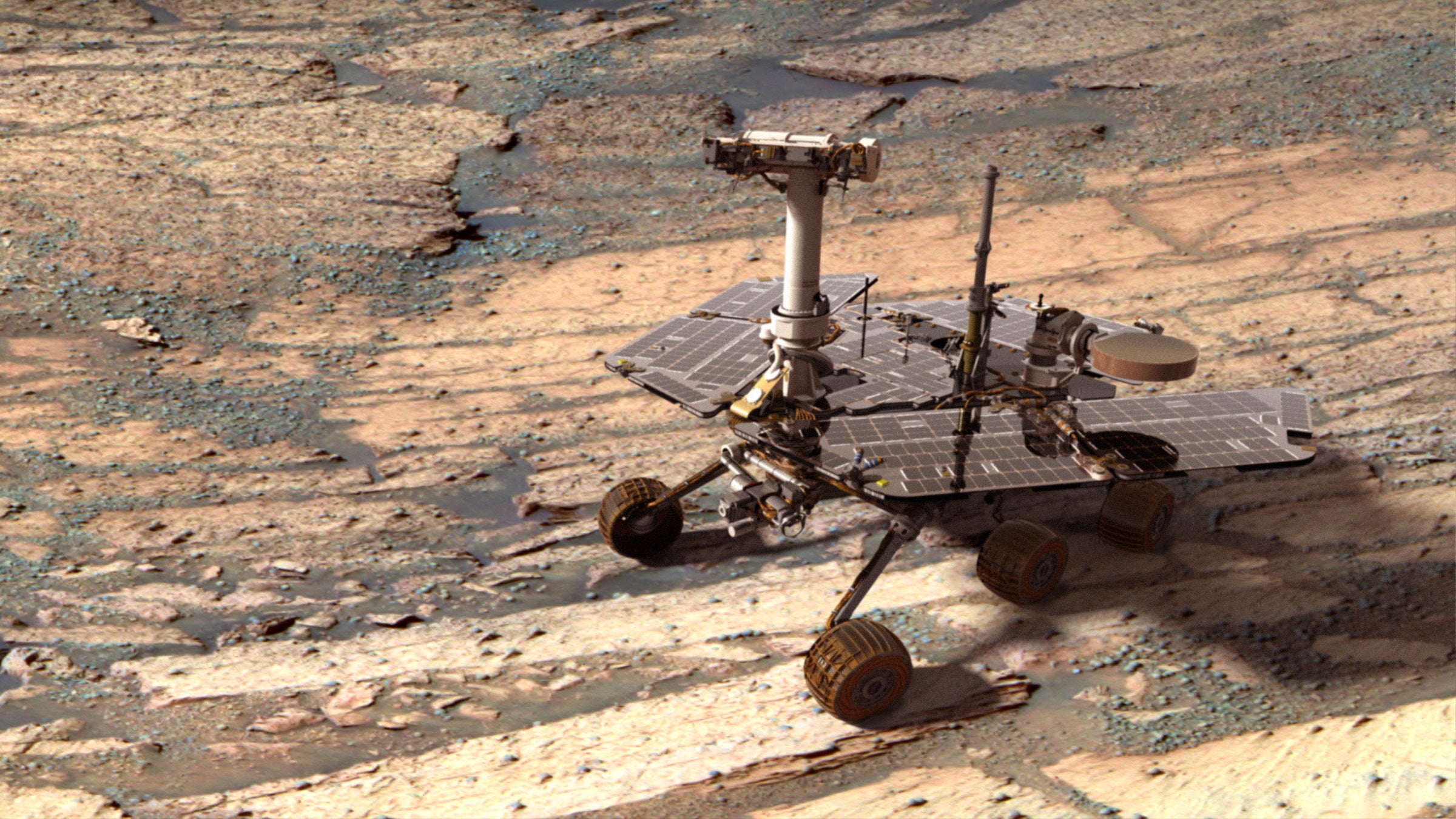 New App Downlinks Mars Rover Images Straight to Your Smartphone