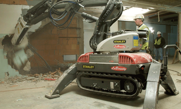 Video: New Demolition Robot Rips Through Walls, Snips Rebar and Turns Concrete Into Dust