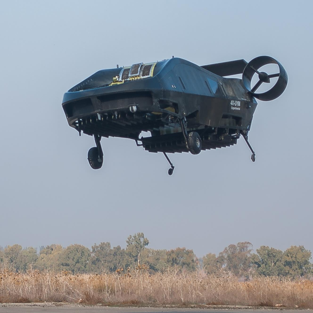Air Mule Hovercraft Ambulance Flies Autonomously